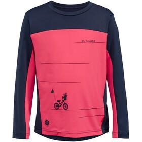 VAUDE Solaro T-shirt z długim rękawem Dzieci, bright pink
